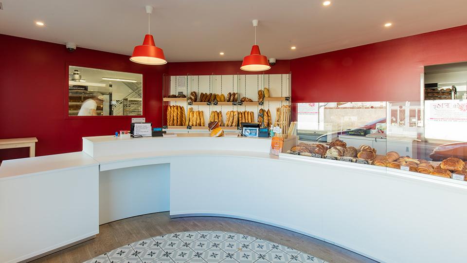 Réalisations vitrines Boulangerie – Pâtisserie / Vitrine boulangerie - Au pain perdu / 7