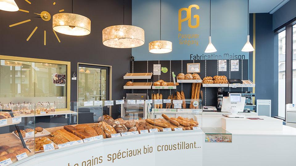 Réalisations vitrines Boulangerie – Pâtisserie / Vitrine Boulangerie Pasquier / 5