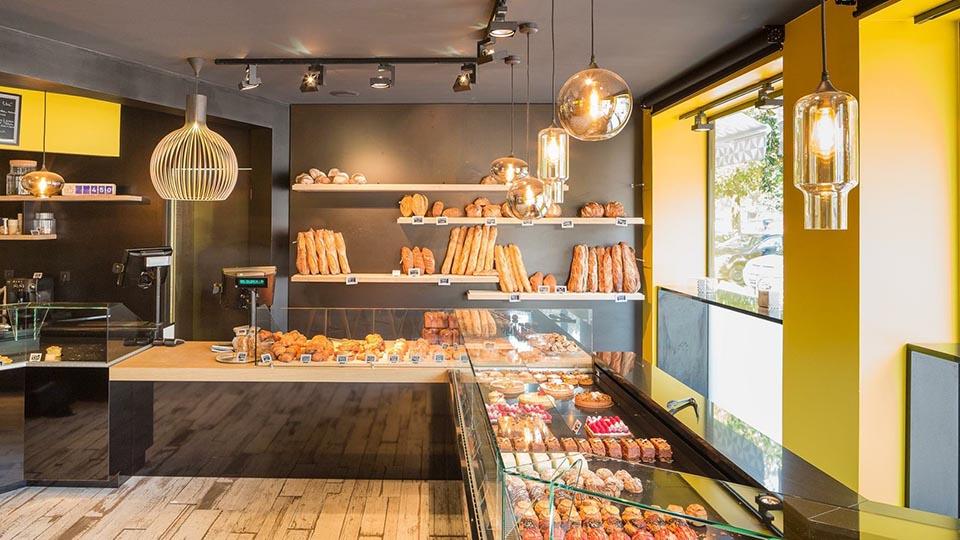 Réalisations vitrines Boulangerie – Pâtisserie / Vitrine boulangerie Emma / 1