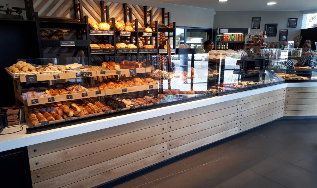 vitrine sur-mesure pâtisserie boulangerie