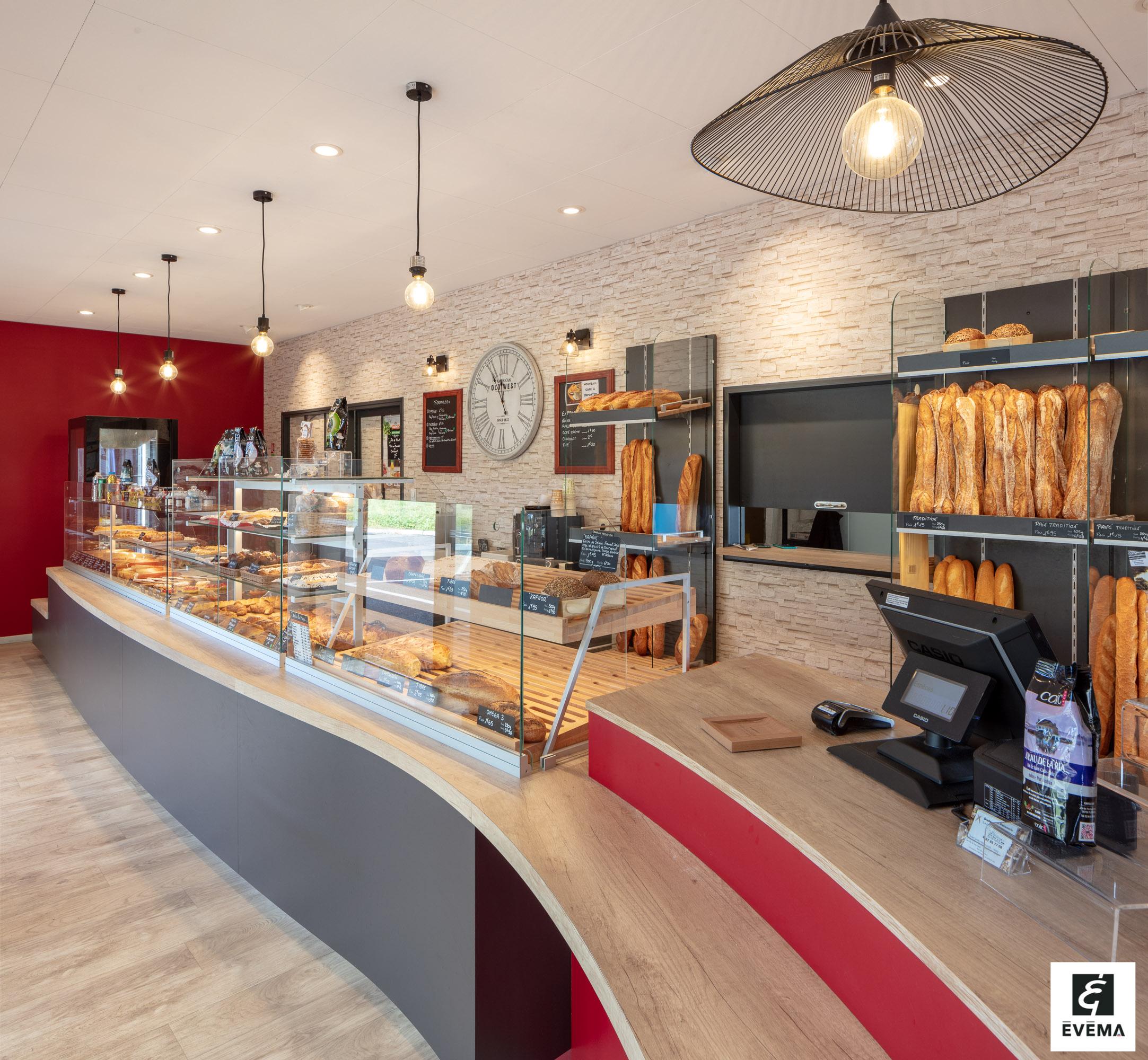 Réalisations vitrines Boulangerie – Pâtisserie / Vitrine boulangerie - O rond pain / 11